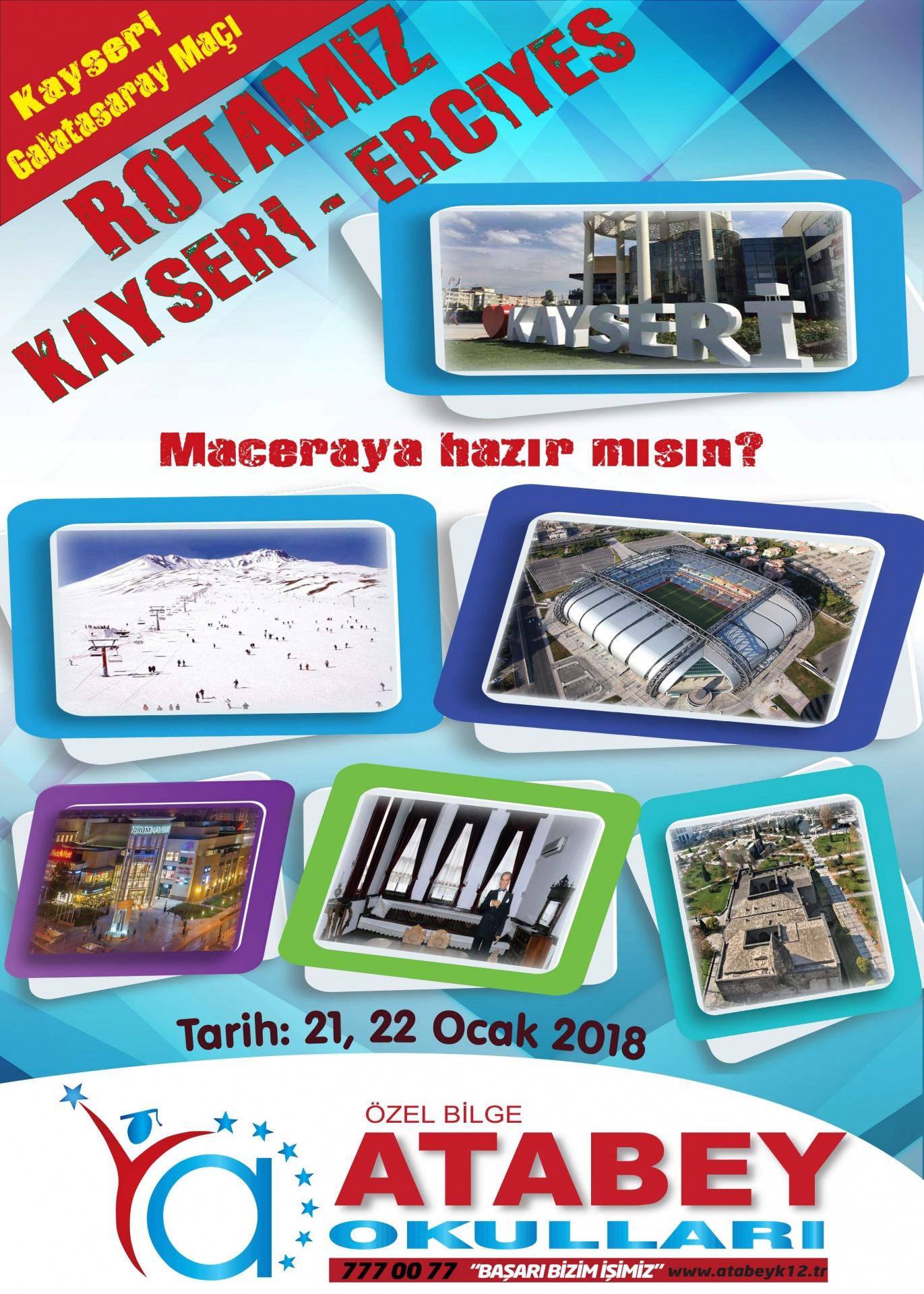 Kayseri Erciyes Gezisi