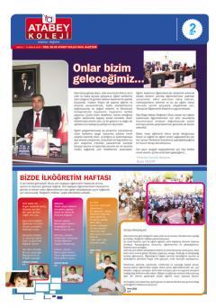 2010-2011 Gazetemiz 1. Sayı
