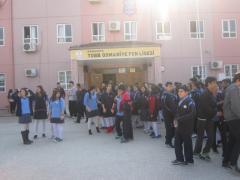 Kampüsteki Liseler Gezisi